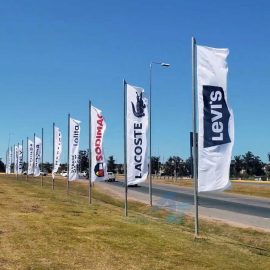 banderas personalizadas impresas publicitarias e institucionales