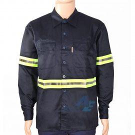 Camisa de Trabajo Manga Larga c Reflectivo 1